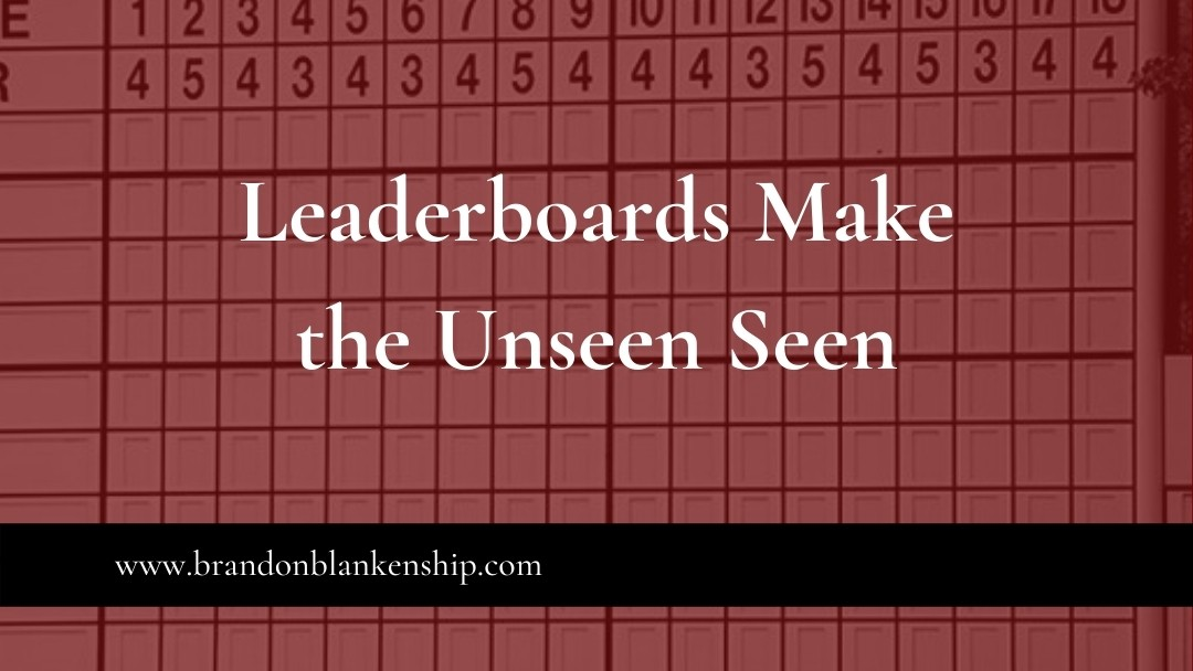 Leaderboards Make the Unseen Seen