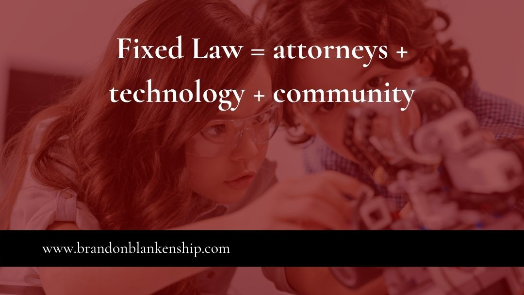Children inventing new law practice with technology and community