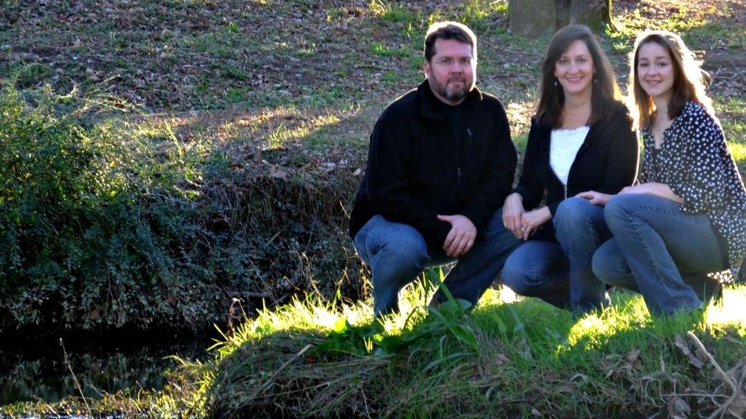 Anna Donnalee and Brandon at Helena Park