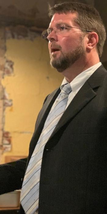 Brandon L Blankenship speaking at continuing legal education